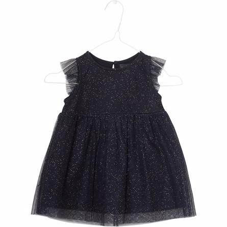 MINIATURE Dita Kjole Med Glimmer Blå