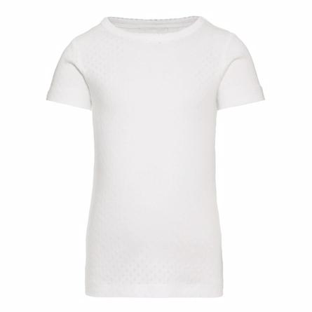 Image of   NAME IT T-Shirt Hvid