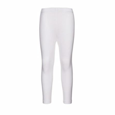Name it basis trekvart leggings hvid fra name it på smartkidz.dk