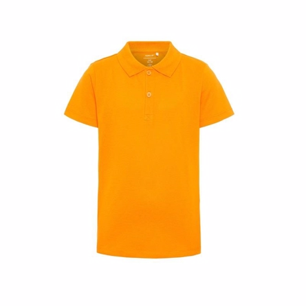 Name it polo shirt orange fra name it på smartkidz.dk