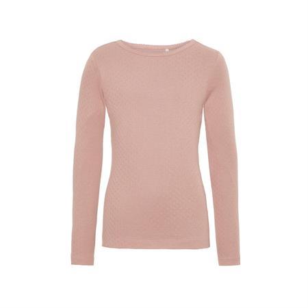 Name it basis bluse hulmønster rosa fra name it fra smartkidz.dk