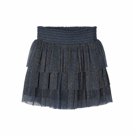 Image of   NAME IT Glimmer Nederdel Ronora Dark Navy
