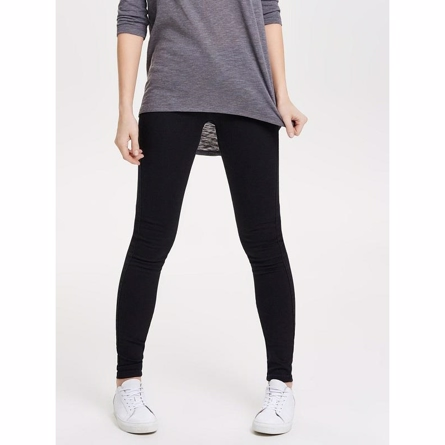 only skinny jeans sort fra only