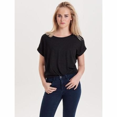 Image of   ONLY Løs T-shirt Top Sort