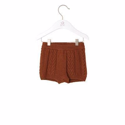 Image of   NOA NOA Baby Strikkede Shorts Glazed Ginger