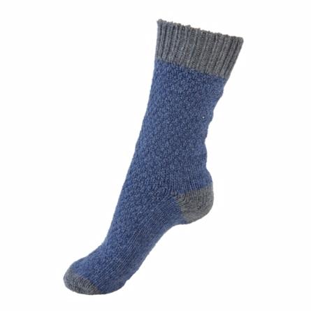 melton Melton strikkede sokker i uld blå på smartkidz.dk