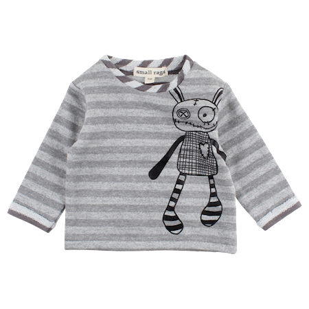 Image of   SMALL RAGS Sweatshirt Med Striber
