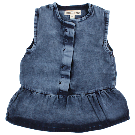 SMALL RAGS Denim Kjole