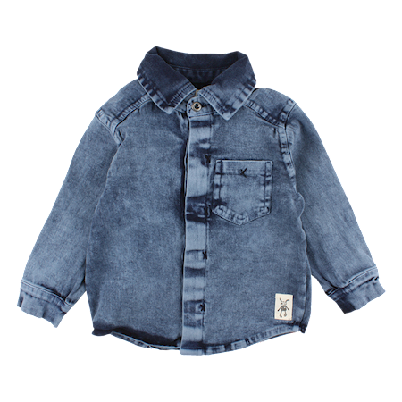 SMALL RAGS Denim Skjorte