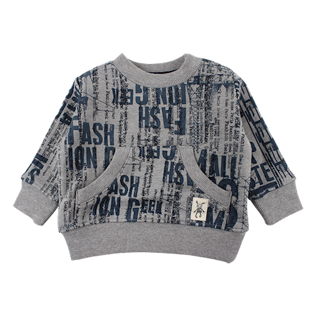 Image of   SMALL RAGS Sweatshirt Med Lommer
