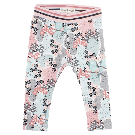 Image of   SMALL RAGS Blomster Leggings