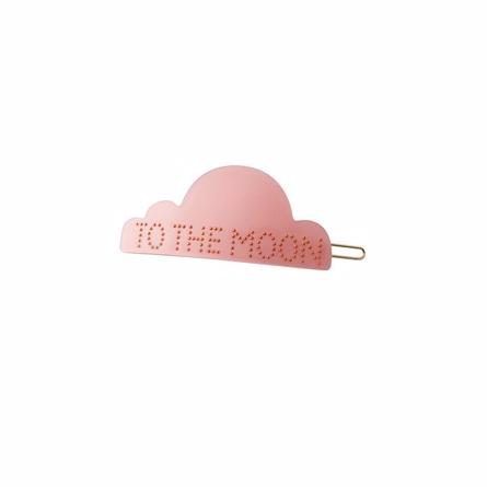 Image of   DESIGN LETTERS Hårspænde Moon Rosa