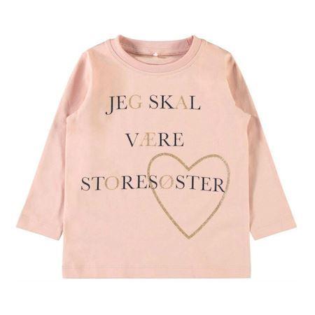 Image of   NAME IT Jeg Skal Være Storesøster bluse