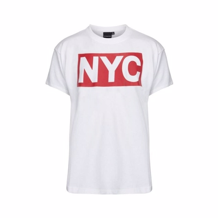 Petit by sofie schnoor hvid nyc t-shirt fra petit by sofie schnoor fra smartkidz.dk